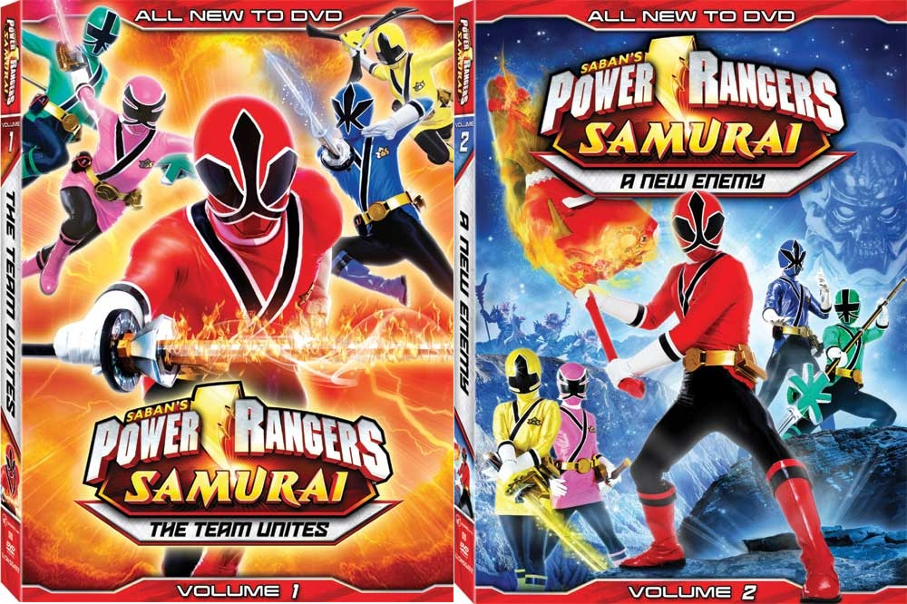 power rangers samurai dvds new info morphin 39 legacy. Black Bedroom Furniture Sets. Home Design Ideas