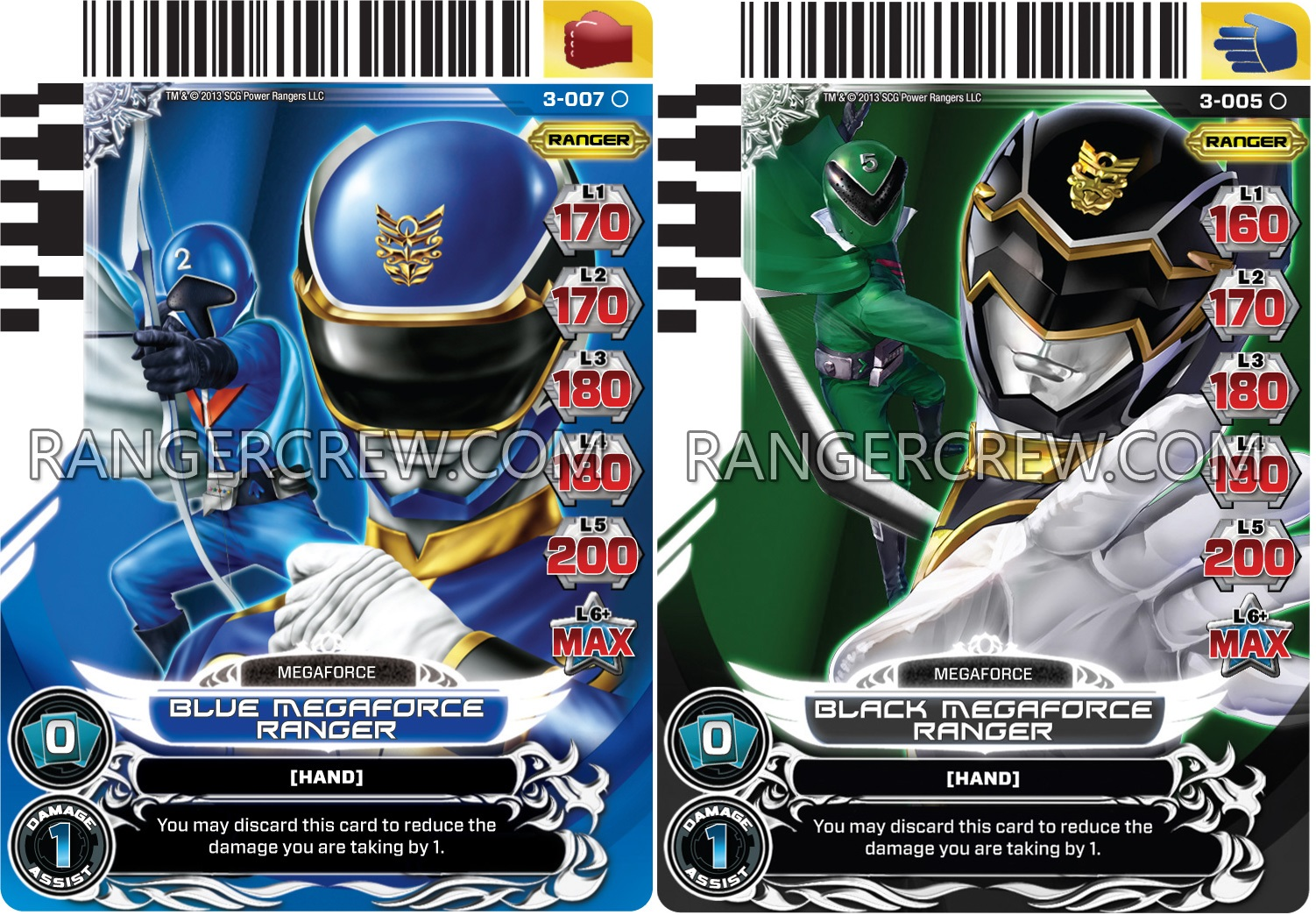 The gallery for power rangers super megaforce cards - Moto power rangers megaforce ...